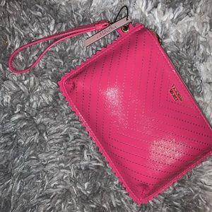 Pink victoria secret wristlet